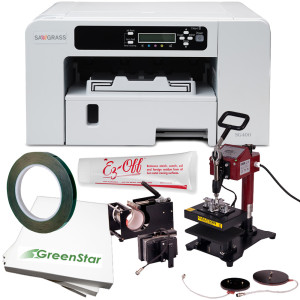 All the equipment and supplies you need to get started sublimating mugs for only $799.