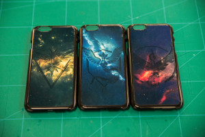 Cool cellphone cases at the tips of your fingers with custom game imagery!