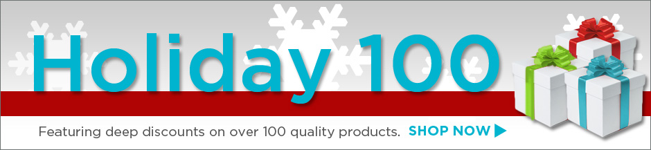 Over 100 hot deals for the holidays! Supplies are limited so shop now!